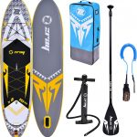 Tabla paddle surf amarilla gris